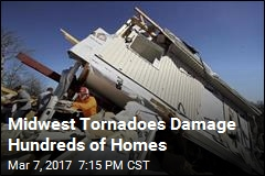 Midwest Tornadoes Damage Hundreds of Homes