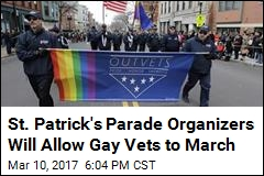 St. Patrick's Parade Organizers Will Allow Gay Vets to March