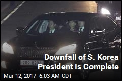 Downfall of S. Korea President Is Complete