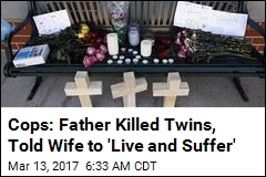 Cops: Father Killed Twin Daughters in Murder-Suicide