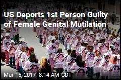 US Deports Father Guilty of Genital Cutting