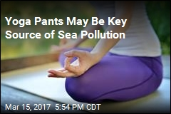Yoga Pants May Be Key Source of Sea Pollution