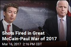 Shots Fired in Great McCain-Paul War of 2017