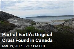 Earth's Original Crust Found in Canada