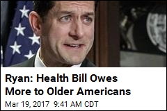 Ryan: Health Bill Owes More to Older Americans