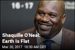 Shaquille O'Neal Is a Flat Earther
