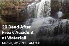 Freak Accident at Ghana Waterfall Leaves 20 Dead