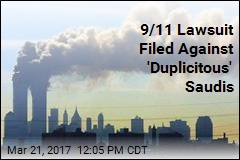 9/11 Lawsuit Filed Against 'Duplicitous' Saudis