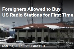 Feds Allow First Foreigners to Buy US Radio Stations