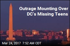 Outrage Mounting Over DC's Missing Teens