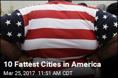 10 Fattest Cities in America
