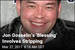 Jon Gosselin's Next Gig Involves Stripping