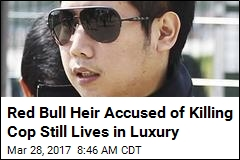 Red Bull Heir Accused of Killing Cop Still Lives in Luxury