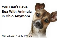 Ohio Bans Sex With Animals; Violators Could Face Jail