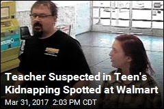 Teacher Suspected in Teen's Kidnapping Caught on Video