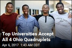 Top Universities Accept All 4 Ohio Quadruplets