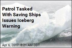 Swarm of Icebergs Threatens Ships Where Titanic Went Down