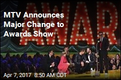 MTV Announces Major Change to Awards Show