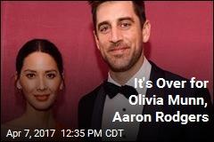 Olivia Munn, Aaron Rodgers Break Up