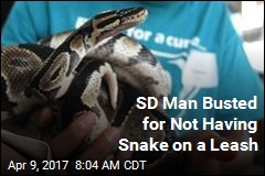SD Man Busted for Not Having Snake on a Leash
