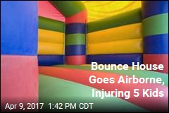 5 Kids Injured When Bounce House Goes Airborne