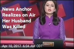 News Anchor Realizes on Air Her Husband Was Killed