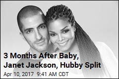 Janet Jackson, Hubby Split 3 Months After Baby