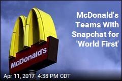 McDonald's Introduces Snapchat Job Applications