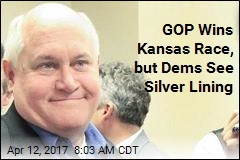 GOP Wins Kansas Race, but Dems See Silver Lining