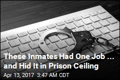 Inmates Tasked With Recycling PCs Hid Them in Prison Ceiling