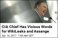 CIA Chief Blasts WikiLeaks as a 'Hostile Intelligence Service'