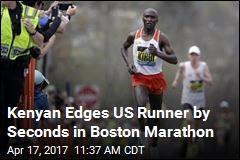 2 Kenyans, One a Cop, Triumph at Boston Marathon