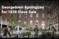 Georgetown Apologizes for 1838 Slave Sale