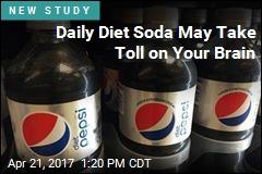A Diet Soda a Day May Raise Dementia Risk
