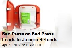 Juicero Offering Refunds for Its Bag-Squeezing Machine