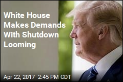 Trump Is Wildcard in Potential Government Shutdown