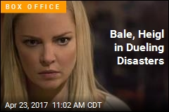 Bale, Heigl in Dueling Disasters