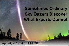 Looking for Auroras, Sky Gazers Spot New Light