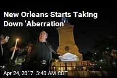 New Orleans Starts Taking Down Confederate Statues