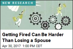 Getting Fired Can Be Harder Than Losing a Spouse