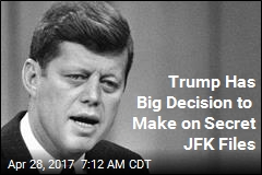Trump Has Big Decision to Make on Secret JFK Files
