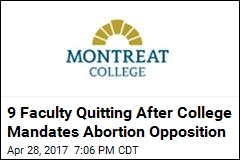 Private College Mandates Staff Oppose Gay Marriage, Abortion