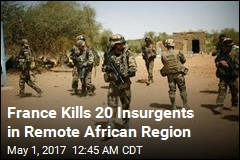 French Forces Kill 20 Jihadists at Mali Border