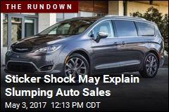 Does This Pricey Minivan Explain Slumping Auto Sales?
