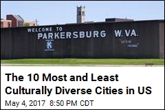 The 10 Most and Least Culturally Diverse Cities in US
