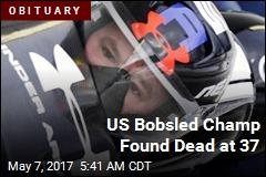 US Bobsled Champ Found Dead at 37