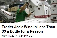 Trader Joe's Wine Is Less Than $3 a Bottle for a Reason