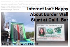 The Internet Isn't Happy About Border Wall Stunt at CA Bar