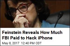 Shooter's iPhone Cost FBI $900K to Hack: Feinstein
