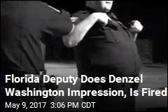 Florida Deputy Does Denzel Washington Impression, Is Fired